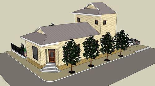New CSED house