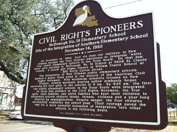 Civil Rights Pioneers Marker
