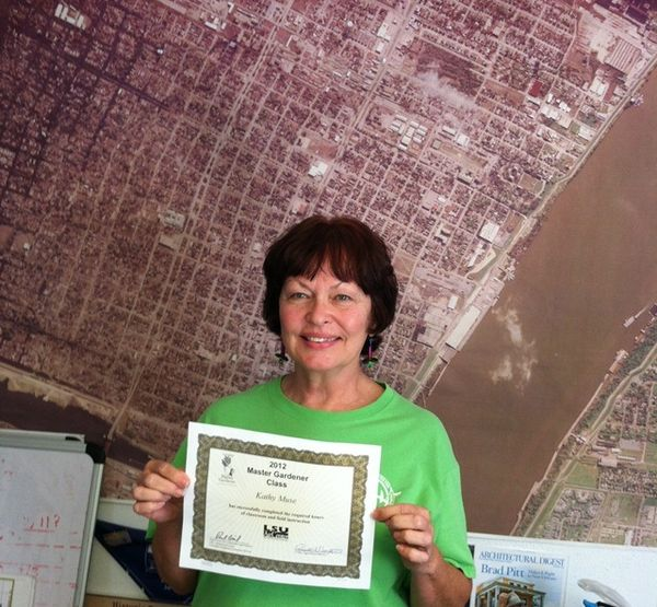 Master Gardener Certificate 2012