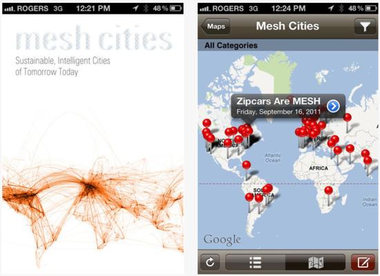 Mesh Cities App
