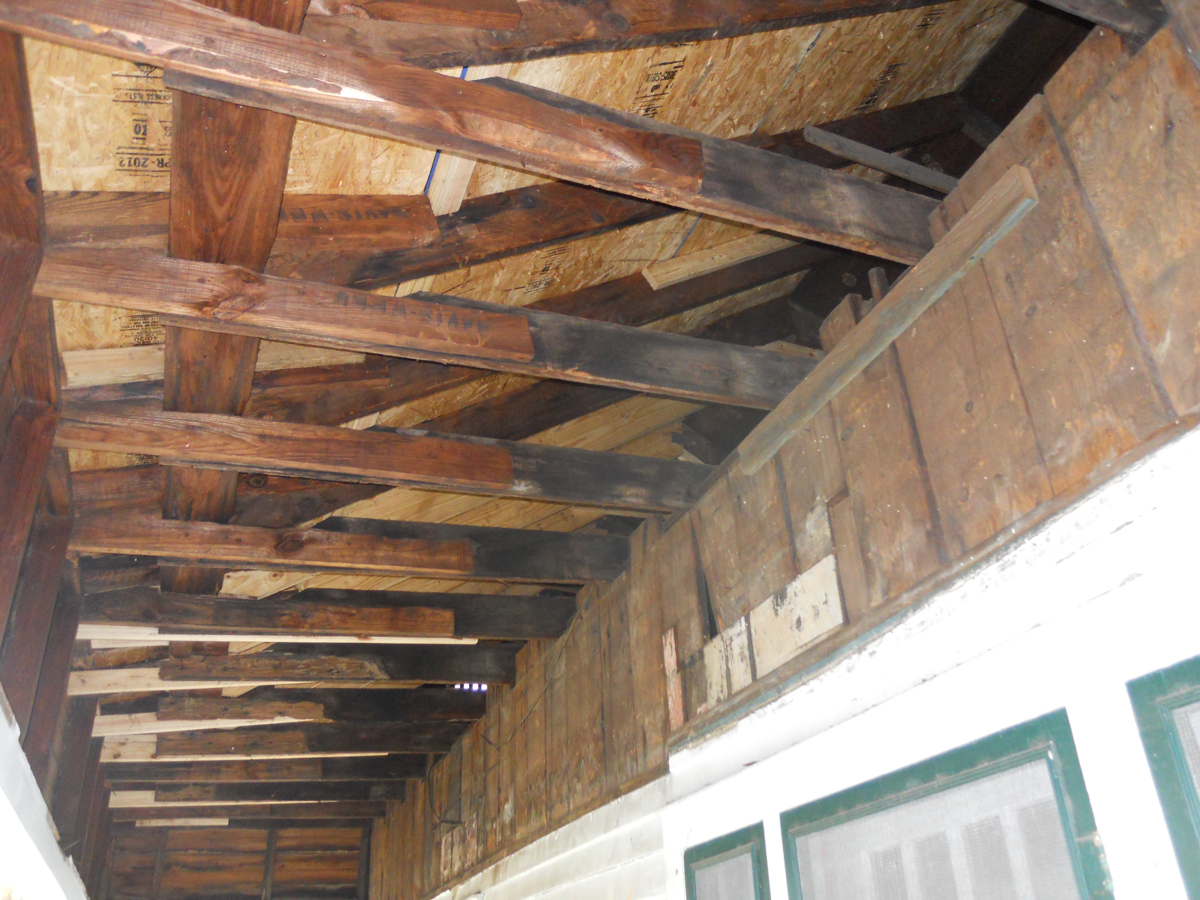 Replacing Termite Damaged Ceiling Joists Www