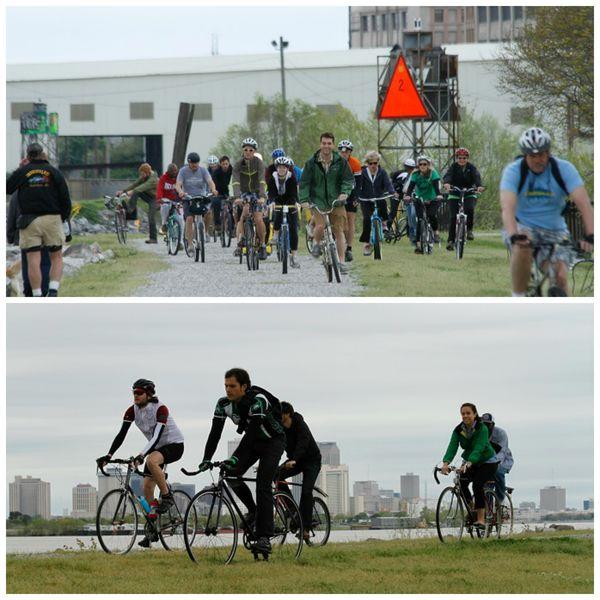 Levee Ride Collage
